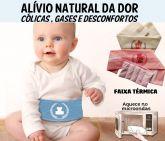 Faixa Térmica Anti Cólica Bebê