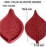 LÍRIO / FOLHA SILVESTRE