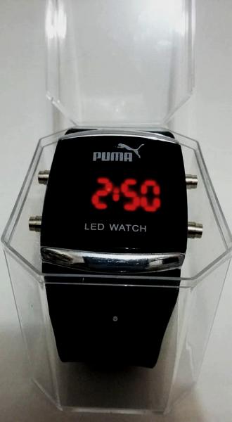 2486f9c3921 Kit com 10 Relógios Puma Led Pulseira Borracha - AtacadistaSPP
