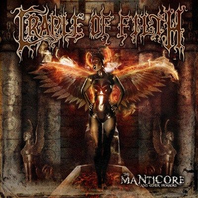 CD Cradle Of Filth - The Manticore And Other Horrors