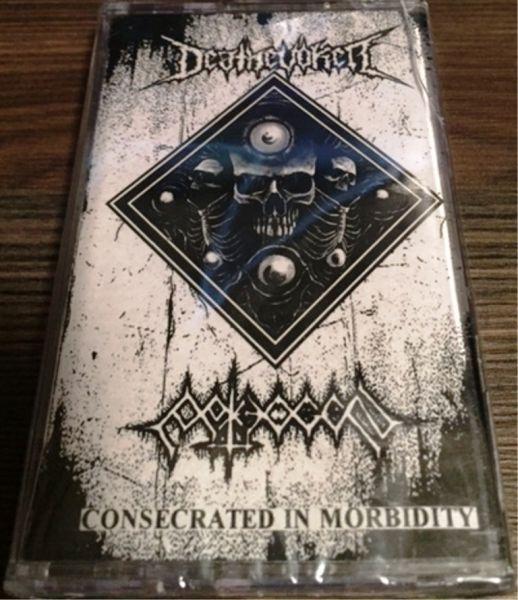 DEATHEVOKER / PATHOGEN - Consecrated in Morbidity - CASSETE