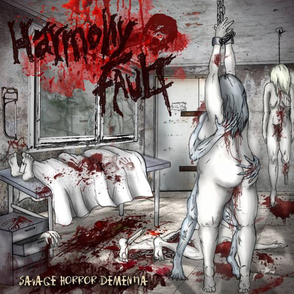 CD Harmony Fault – Savage Horror Dementia