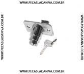 Fechadura Tampa da Mala Niva c/ 1 chave (Nova)  Ref.0524