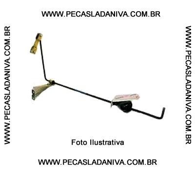 Alavanca de Acionamento da Valvula Equalizadora de Freio Traseiro Niva (Usada) Ref . 0351