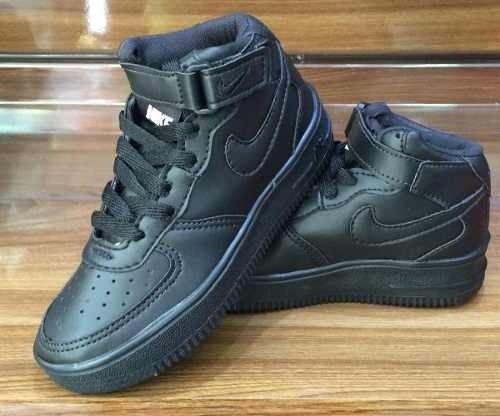 Tênis Nike Air Force Cano Alto Preto c6b782b89e854