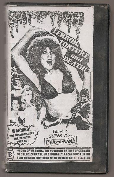 Fita VHS - Impetigo - Live Gore