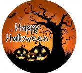 Papel Arroz Halloween Redondo 008 1un