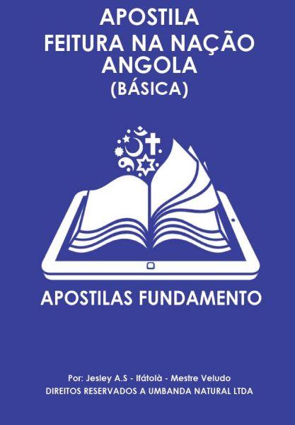 APOSTILA BÁSICA FEITURA NA NAÇÃO ANGOLA