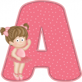 Alfabeto - Bailarina 2 - PNG