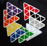 Octahedron Lan Lan 8-axis Skewb Diamond