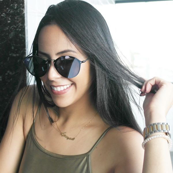Óculos de sol Ray ban round blaze Inspired - Daf Store 6ce192ded8