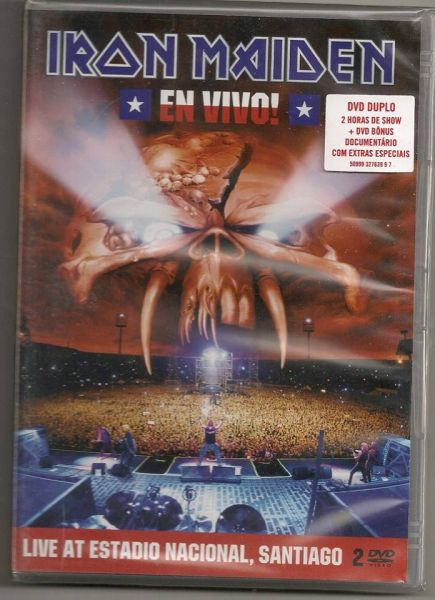 DVD - Iron Maiden - Live At Estadio Nacional, Santiago