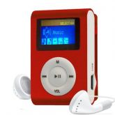 MP3 Player Radio FM Visor LCD Entrada Micro SD