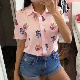 Camisa harajuku Sailor Moon
