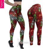 calça *(GG-46) legging fitness estampada, suplex grosso, não fica transparente