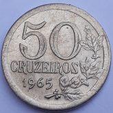 50 Cruzeiros 1965 SOB/FC