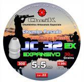 JC 32 EX LATÃO 300 UNIDADES