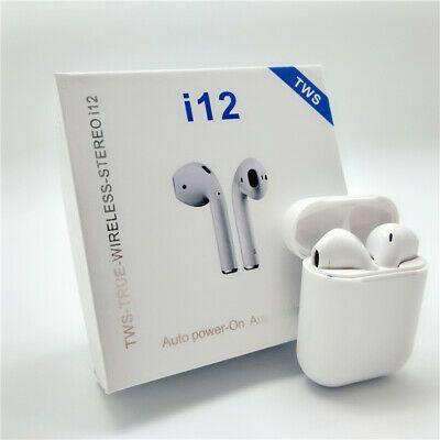 Fone De Ouvido Bluetooth I12 TWS Sem Fio