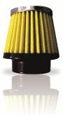 Filtro De Ar Esportivo Honda Cb300R e XRE 300 Race Chrome Amarelo -Cód.RR029