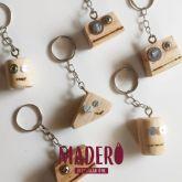 chaveiro cabeça de Maderobô
