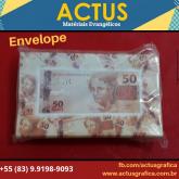 Envelope 50 reais