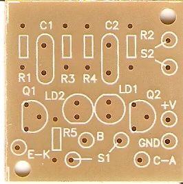 30 pçs Placa p/ Provador Autom. de Transistores, Diodos e LEDs