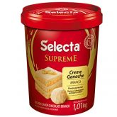 Creme Ganache Chocolate Branco Selecta 1kg 1un