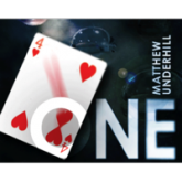 One (DVD and BLUE Gimmick) by Matthew Underhill - DVD 1147
