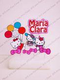 Topo de bolo- Hello Kitty