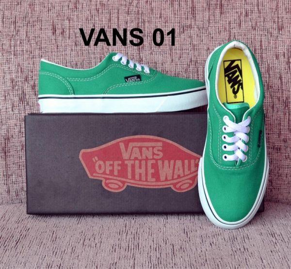1f983d5107af9 Tênis Vans Verde - Outlet Ser Chic