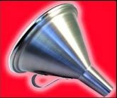 Funil encantado importado aluminio  #1064