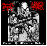 DIABOLICAL MESSIAH / SWARM OF TERROR  -  Embrace the Advance of Victory - CD