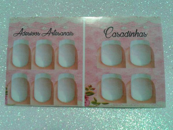 100 Cartoes para Adesivo 2 dedos Filha unica casadinho