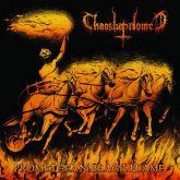 CHAOSBAPHOMET - Promethean Black Flame - LP (Gatefold Die hared Orange LP)