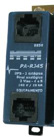 PA-RJ45 Protetor de Surto p/ Centrais de PABX 20kA