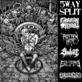 CD 5 Ways Split - Carnal Tomb - Rotten Hate - Soulrot - Ectoplasma