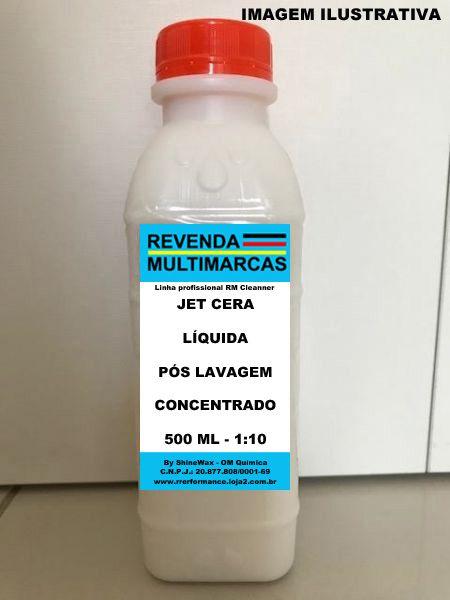 Jet Cera Líquida Pós Lavagem - 5 L (até 10L) - Shine Wax - Cód. RM271