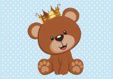 Papel Arroz Príncipe Urso A4 004 1un