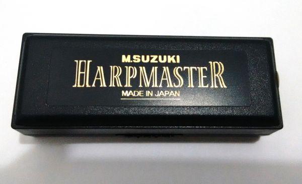 GAITA SUZUKI HARP MASTER MR-200 AFINAÇÃO EM DÓ (C)