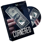 Cornered (DVD and Gimmick Set) by SansMinds Creative Lab)  #1373