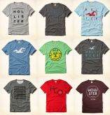 Camiseta Hollister kit 10 pçs