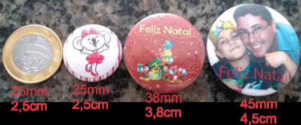 Botton 25 mm com alfinete,botons,buttons,butons,bottons americanos,botons americanos