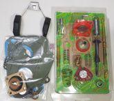 Jogo de juntas kit Completo Carburador Niva 93 em Diante Solex Russo C/ boia Dupla Ref.0871