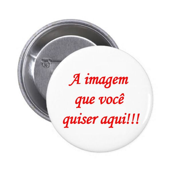 Botton 25 mm com alfinete 10-100 unidades