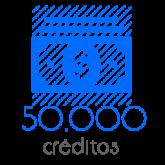 50,000 Moedas
