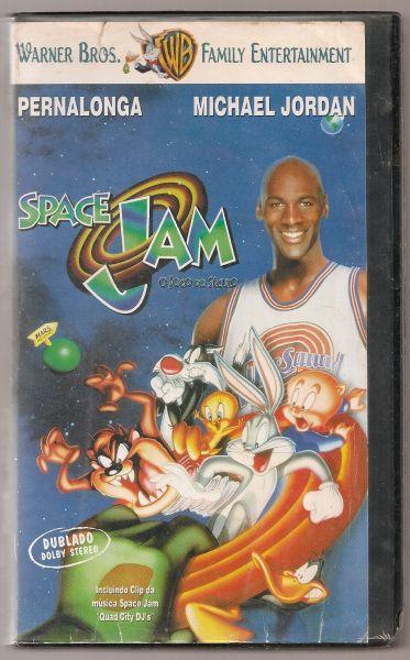 Fita VHS - Space Jam