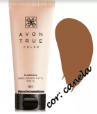 Base Líquida cor Canela Matte FPS 15 True Color 30ml -