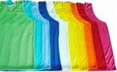 Camiseta regata de malha colorida algodão