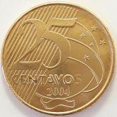 25 Centavos 2004 FC