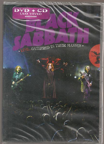 DVD - Black Sabbath -  Live...Gathered In Their Masses (+CD)